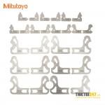 Bộ dưỡng đo cung tròn miếng rời Mitutoyo 186-902 0.5-13mm