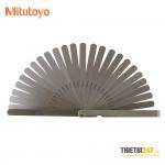 Bộ dưỡng đo khe hở Mitutoyo 184-308S 10 lá 0.05~0.8mm