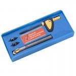 Bộ dao phay bavia cạnh, mép lỗ 60 độ, 00-99619-X060-DB60-02K-32 Nine9