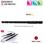 Mũi khoan sắt và inox đầu lục giác No.26 Onishi Nhật