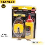 Bật mực 30m và hộp mực Stanley 47-465