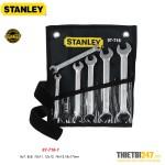 Bộ Cờ Lê 2 Đầu Miệng Stanley 87-716-1 6~17mm 6 cái