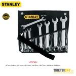 Bộ Cờ Lê 2 Đầu Miệng Stanley 87-718-1 6~22mm 8 cái