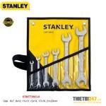 Bộ Cờ Lê 2 Đầu Miệng Stanley STMT73663-8 6~23mm 6 cái