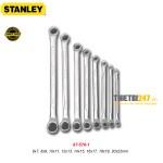 Bộ cờ lê 2 đầu vòng 75 độ Stanley 87-576-1 8 cái