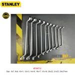 Bộ cờ lê 2 đầu vòng 75 độ Stanley 87-617-3 6~27mm 10 cái