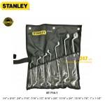 Bộ cờ lê hệ inch 2 đầu vòng 75 độ Stanley 87-714 7 cái