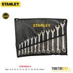 Bộ cờ lê vòng miệng Stanley STMT80943-8 6~24mm 12 cái