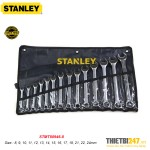 Bộ cờ lê vòng miệng Stanley STMT80946-8 8~24mm 14 cái