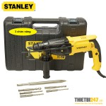 Bộ máy khoan búa Stanley SHR263KA SDS Plus 26mm 800W 3 chức năng