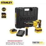 Máy khoan bê tông 3 chức năng dùng pin Stanley SBR20M2K SDS-Plus 18V