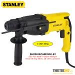Máy khoan búa Stanley SHR263K SDS Plus 26mm 800W 3 chức năng