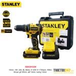 Máy khoan vặn vít động lực pin Stanley SBH201D2K 13mm 18V 2Ah BL Motor