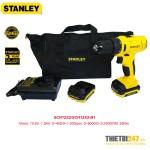Máy khoan vặn vít động lực pin Stanley SCH12S2 10mm 10.8V 1.5Ah