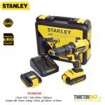 Máy khoan vặn vít động lực pin Stanley SCH20C2K 13mm 18V 1.3Ah 45Nm