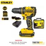 Máy khoan vặn vít pin Stanley SBD201D2K 13mm 18V 2Ah BL Motor