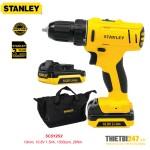 Máy khoan vặn vít pin Stanley SCD12S2 10mm 10.8V 1.5Ah 1500rpm