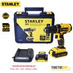 Máy khoan vặn vít pin Stanley SCD20C2K 13mm 18V 1.3Ah 1500rpm 45Nm