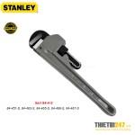 Mỏ lết răng Stanley Seri 84-4-S thân nhôm