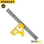 "Thước eke thủy Stanley 46-028 300mm 12"" cán sắt"