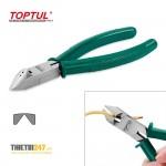 Kìm cắt lưỡi nghiêng và tuốt dây điện DEAA1206B Toptul