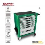 Tủ dụng cụ 7 ngăn di động không có dụng cụ TCAG0702 Toptul