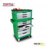 Tủ đựng dụng cụ 10 ngăn có dụng cụ 333 cái GCAZ0013, GCAZ0014 Toptul