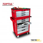 Tủ đựng dụng cụ 10 ngăn có dụng cụ 333 cái GCAZ0020 GCAJ0022 Toptul