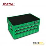 Tủ đựng dụng cụ 3 ngăn có dụng cụ 157 cái GCAZ0005 Toptul