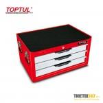 Tủ đựng dụng cụ 3 ngăn có dụng cụ 157 cái GCAZ0018 Toptul