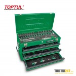 Tủ đựng dụng cụ 3 ngăn có dụng cụ 82 cái GCAZ0024 Toptul