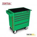 Tủ đựng dụng cụ 5 ngăn có dụng cụ 157 cái GCAJ0006 Toptul