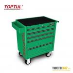 Tủ đựng dụng cụ 5 ngăn có dụng cụ 163 cái GT-16307 Toptul