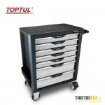 Tủ đựng dụng cụ 5 ngăn có dụng cụ 214 cái GE-21409 Toptul