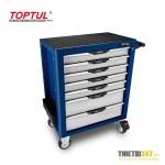 Tủ đựng dụng cụ 5 ngăn có dụng cụ 214 cái GE-21410 Toptul