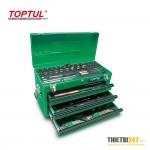 Tủ đựng dụng cụ 5 ngăn có dụng cụ 99 cái GCAZ0038 Toptul