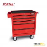 Tủ đựng dụng cụ 5 ngăn di động không có dụng cụ TCAA0502 Toptul