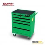 Tủ đựng dụng cụ 5 ngăn nhỏ di động không có dụng cụ TCAB0501 Toptul