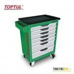 Tủ đựng dụng cụ 7 ngăn di động không có dụng cụ TCAC0701 Toptul