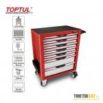 Tủ đựng dụng cụ 7 ngăn di động không có dụng cụ TCAG0701 Toptul