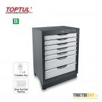 Tủ đựng dụng cụ 7 ngăn không có dụng cụ TCCA0703 Toptul