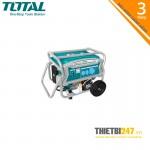 Máy phát điện dùng xăng TP165006 Total 6.5KW