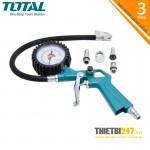 Súng bơm lốp xe ô tô dùng khí TAT11601 Total 12bar